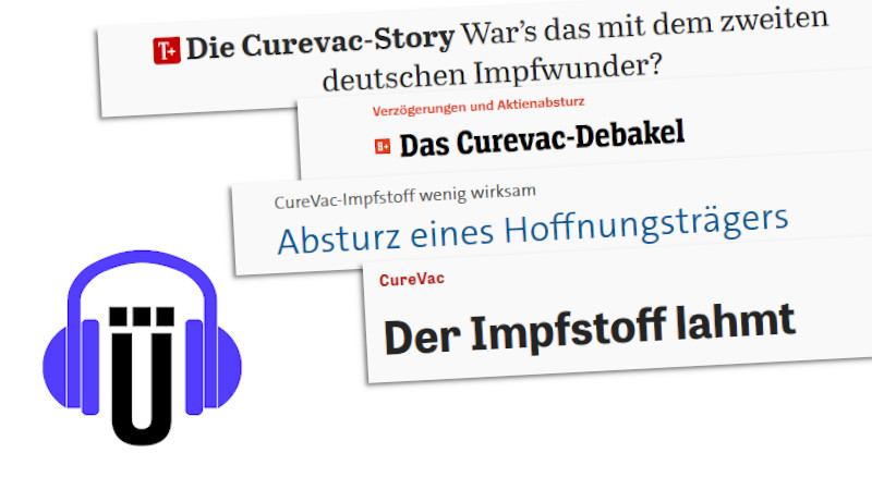 Schlagzeilen zu CureVac
