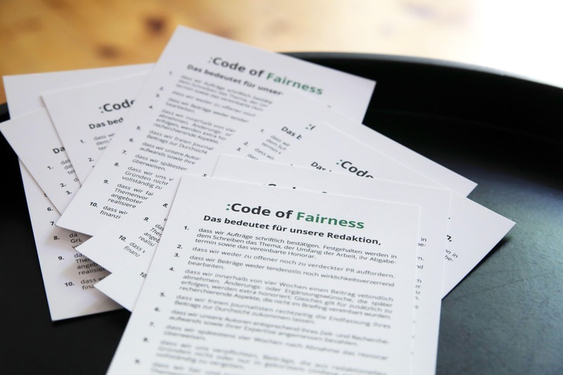 Code of Fairness