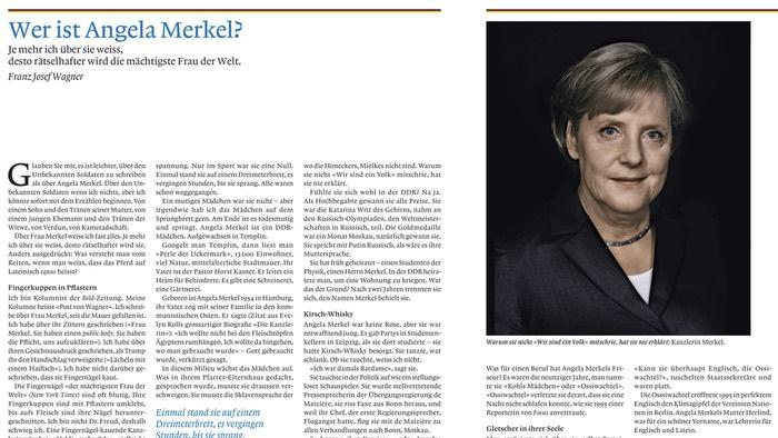 Wer ist Angela Merkel?