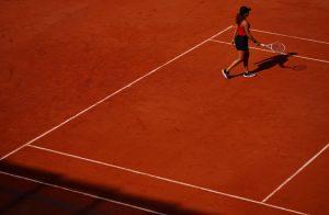 Naomi Osaka bei den French Open