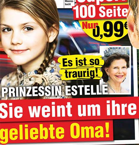 Es ist so traurig! - Prinzessin Estelle - Sie weint um ihre geliebte Oma!