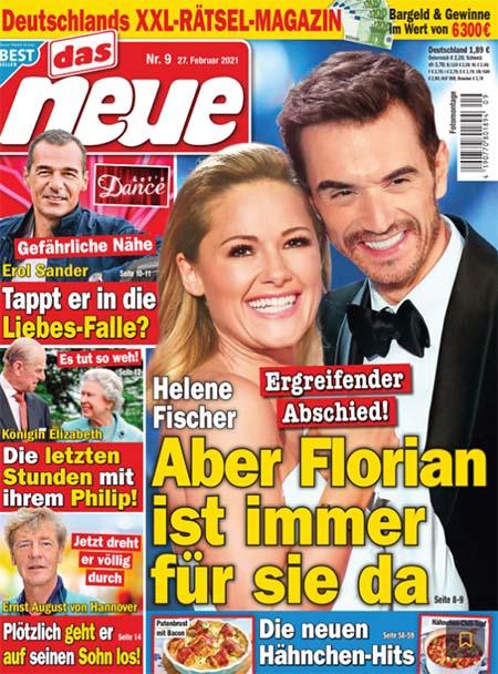 Helene Fischer - Ergreifender Abschied - Aber Florian ist immer für sie da