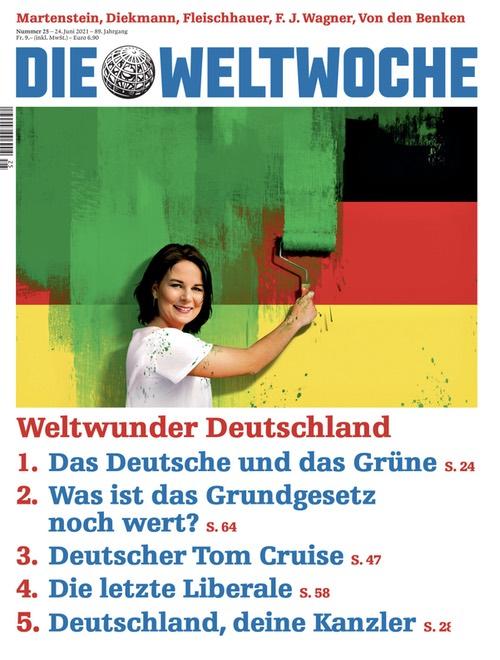 Weltwoche-Cover: Weltwunder Deutschland