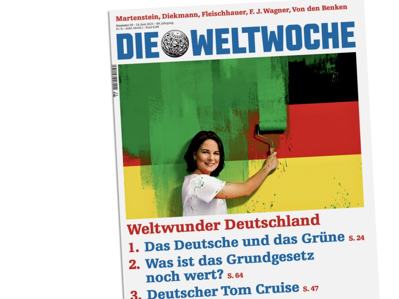 """""""Die Weltwoche"""": Weltwunder Deutschland"""