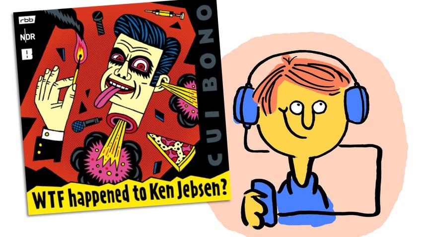 """Podcastkritik """"WTF happened to Ken Jebsen?"""" mit lachendem Gesicht"""