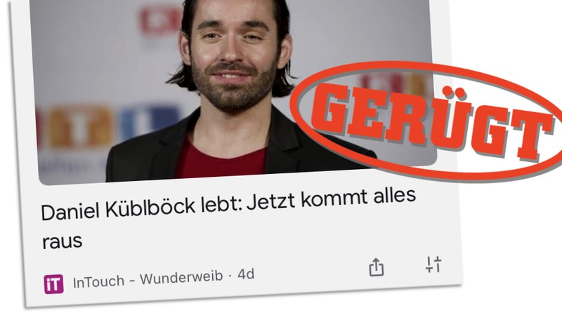 """Daniel Küblböck lebt: Jetzt kommt alles raus"" - gerügt"
