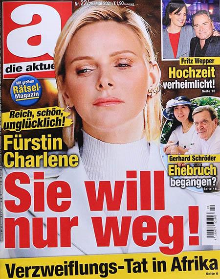 Reich, schön, unglücklich! - Fürstin Charlene - Sie will nur weg! - Verzweiflungs-Tat in Afrika