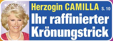 Herzogin Camilla - Ihr raffinierter Krönungstrick