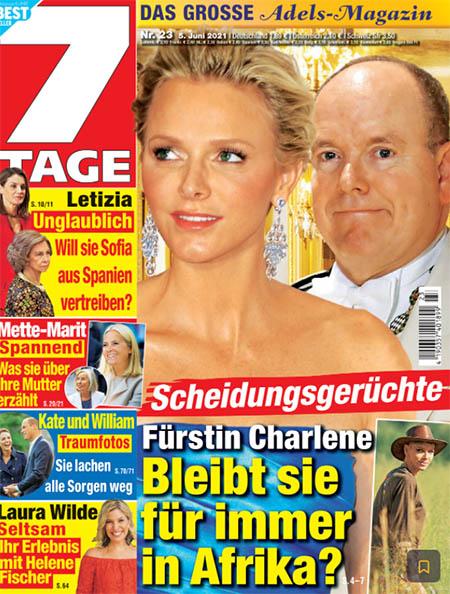 Scheidungsgerüchte - Fürstin Charlene - Bleibt sie für immer in Afrika?