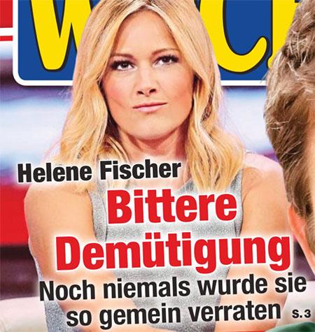 Helene Fischer - Bittere Demütigung - Noch niemals wurde sie so gemein verraten