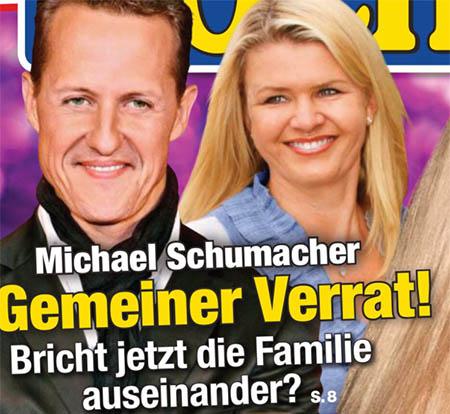 Michael Schumacher - Gemeiner Verrat! - Bricht jetzt die Familie auseinander?