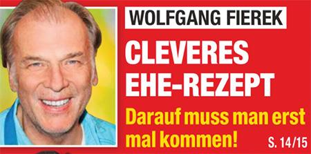 Wolfgang Fierek - Cleveres Ehe-Rezept - Darauf muss man erst mal kommen!