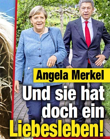 Angela Merkel - Und sie hat doch ein Liebesleben!