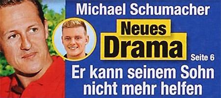 Michael Schumacher - Neues Drama - Er kann seinem Sohn nicht mehr helfen