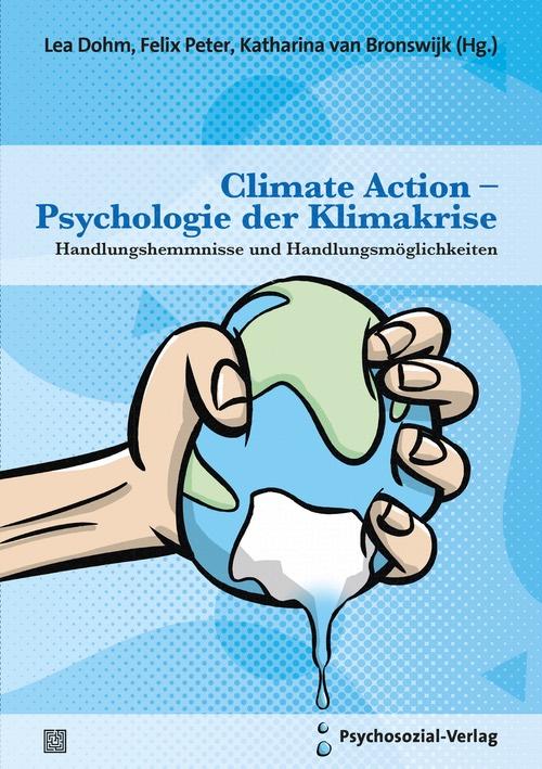 "Buchcover ""Climate Action –Psychologie der Klimakrise"""
