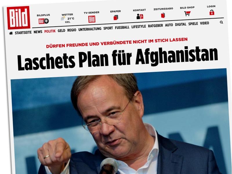 Laschets Plan für Afghanistan