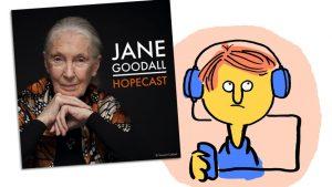 Podcastkritik: Jane Goodall Hopecast, zweifelndes Hörergesicht