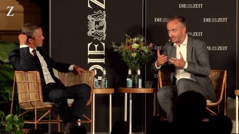 Markus Lanz und Jan Böhmermann