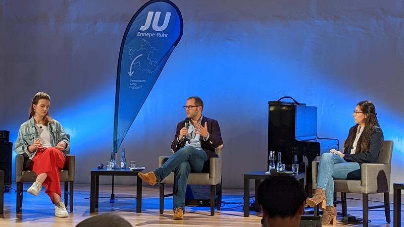Julian Reichelt bei der Jungen Union im Schwelm