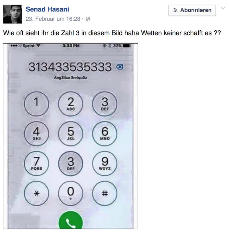 Senad Hasani Facebook