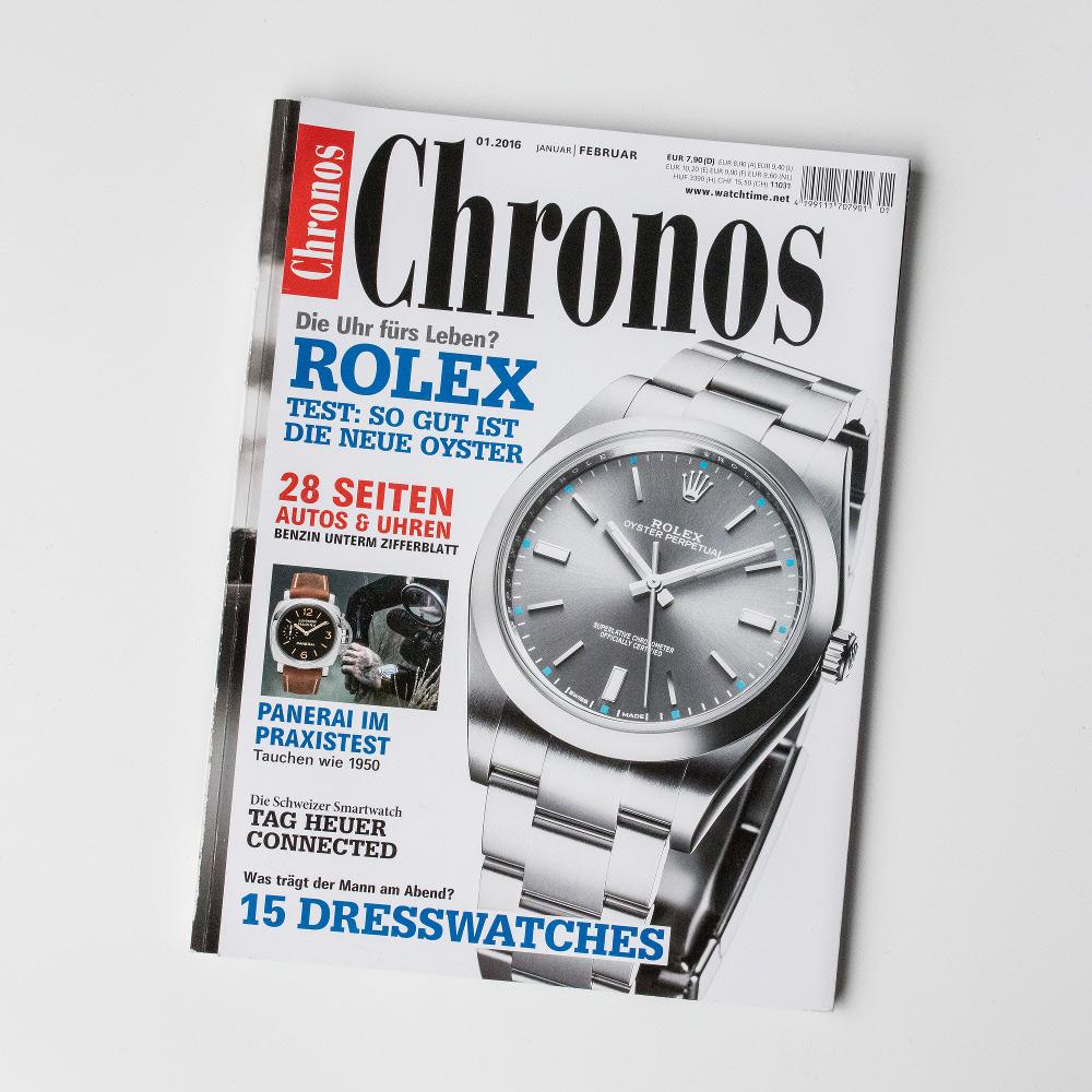 """""""Chronos"""" – es ist neun Minuten nach zehn."""