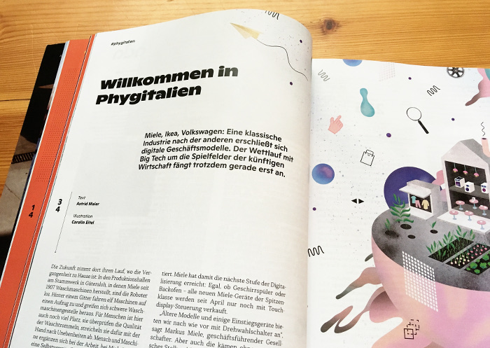 """Schlagzeile: """"Willkommen in Phygitalien"""""""