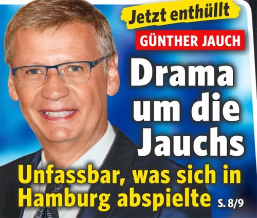Jetzt enthüllt - Günther Jauch - Drama um die Jauchs - Unfassbar, was sich in Hamburg abspielte