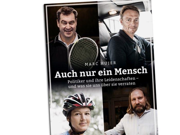 """Buchcover Marc Hujer: """"Auch nur ein Mensch"""""""