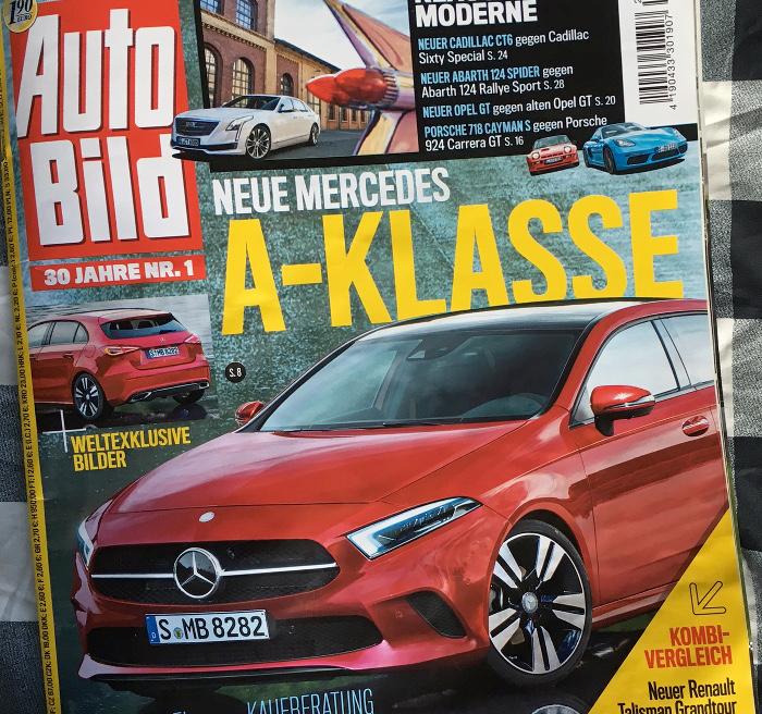 "Ausriss ""Autobild"" 15.7.2016"
