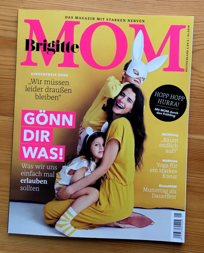 Titel Der Zeitschrift Brigitte Mom Nr 01 2019 Ubermedien