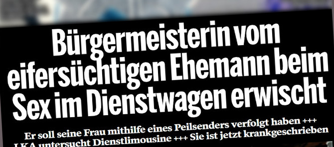 """Überschrift der """"Bild am Sonntag"""" vom 14.5.2017"""