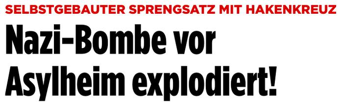 """""""Bild"""" 13.3.2016"""