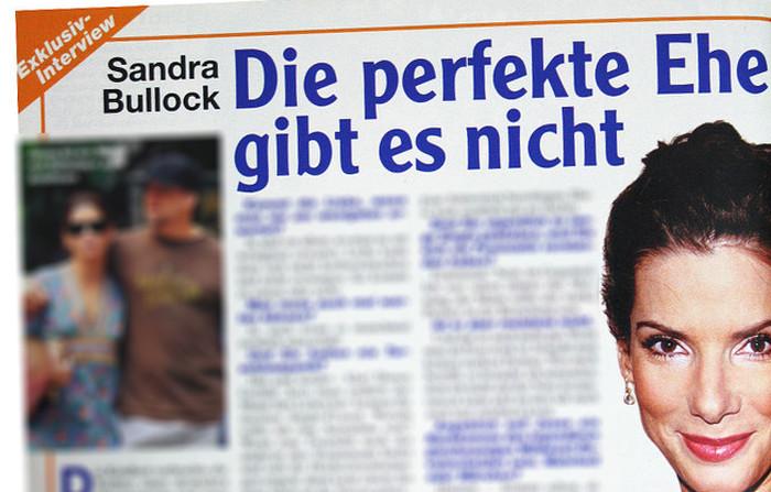 Sandra Bullock: 'Die perfekte Ehe gibt es nicht