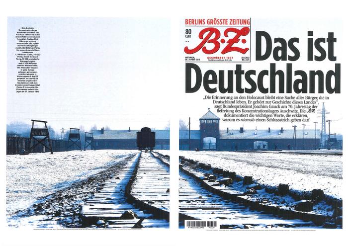 70. Jahrestag der Befreiung des Konzentrationslagers Auschwitz