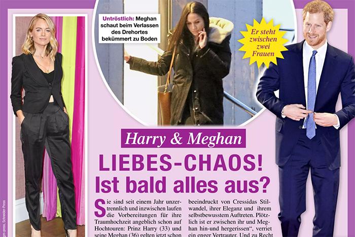 Harry & Meghan - LIEBES-CHAOS! - Ist bald alles aus?