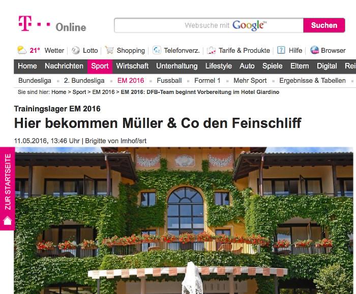 Erstee PR-Erfolge für die Schweiz