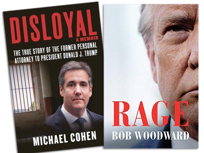 """Buchcover: """"Disloyal"""", """"Rage"""""""