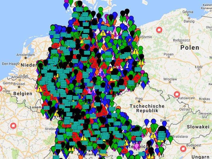 die einzelfall karte Einzelfall Map Archiv | Übermedien