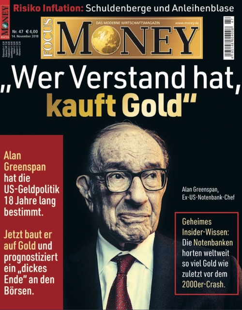"""""""Wer Verstand hat, kauft Gold"""""""