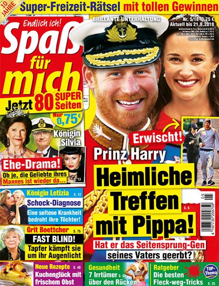 Prinz Harry - Heimliche Treffen mit Pippa! - Hat er das Seitensprung-Gen seines Vaters geerbt? (Dazu ein Foto, auf dem Harry und Pippa zusammen joggen)