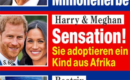 Harry & Meghan - Sensation! - Sie adoptieren ein Kind aus Afrika