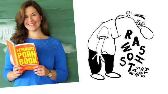 Madita Oeming und daneben die Zeichnung von Hauck und Bauer
