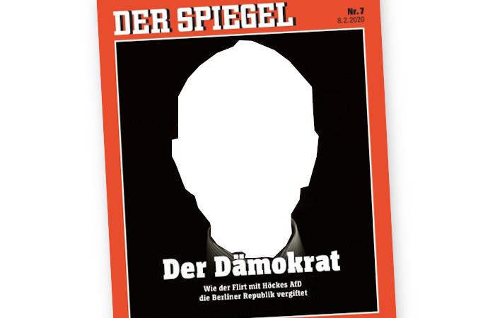 """Das Titelbild des Magazins """"Der Spiegel"""" - ohne Björn Höcke"""