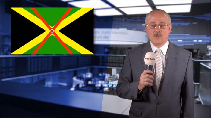 Durchgestrichene Jamaika-Flagge