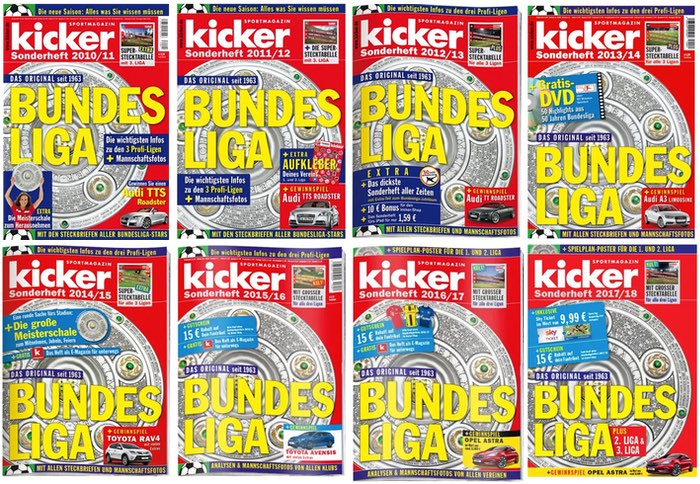 Kicker Sonderheft Bundesliga 2021/20
