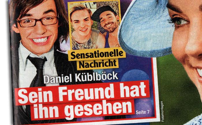 Sensationelle Nachricht - Daniel Küblböck - Sein Freund hat ihn gesehen