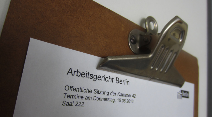Verhandlung: Günther Lachmann gegen WeltN24