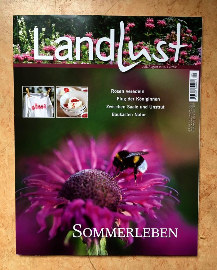 Landlust Titelseite Ausgabe Juli/August 2016