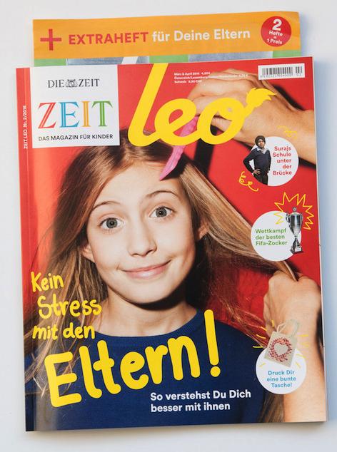 "Kindermagazin ""Leo"" Titelseite"
