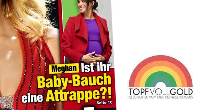 Meghan: Ist ihr Baby-Bauch eine Attrappe?!